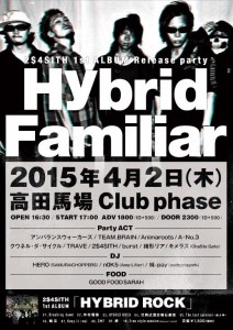 2015.4.2 2$4SITH 1st ALBUM Release party'Hybrid Familiar'